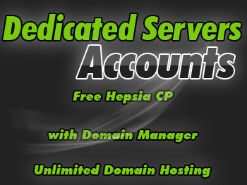 Popularly priced dedicated servers hosting package